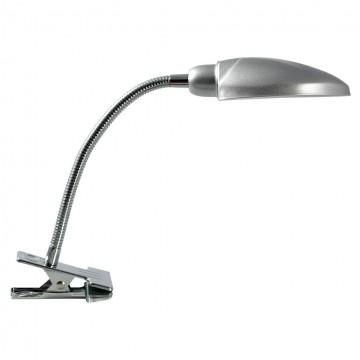 Светильник на прищепке Lussole Roma LST-4264-01, IP21, 1xE14x40W, серый, металл
