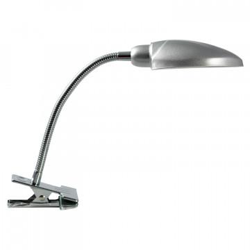 Настольная лампа Lussole Roma LST-4264-01, IP21, 1xE14x40W, серый, металл