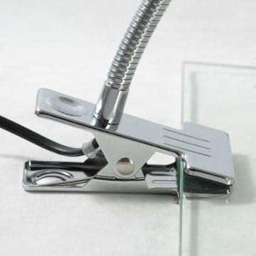Настольная лампа Lussole Roma LST-4264-01, IP21, 1xE14x40W, серый, металл - миниатюра 3