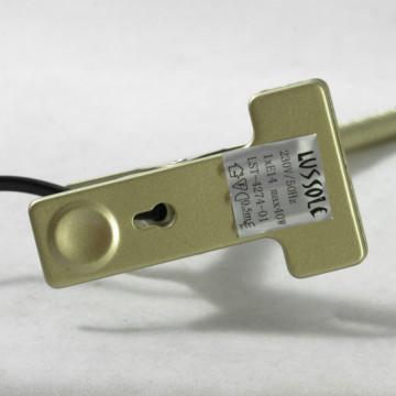 Настольная лампа Lussole Roma LST-4274-01, IP21, 1xE14x40W, бежевый, металл - миниатюра 4