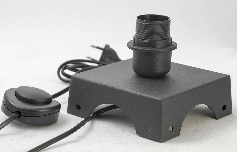 Торшер Lussole Loft Parker LSP-9887, IP21, 1xE27x60W, черный, металл - фото 2