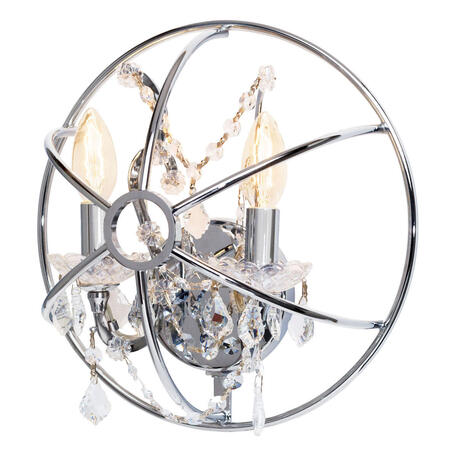 Бра Loft It Foucaults Orb Crystal LOFT1896W, 3xE14x40W