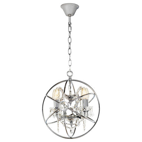 Подвесная люстра Loft It Foucaults Orb Crystal LOFT1896/4, 4xE14x40W