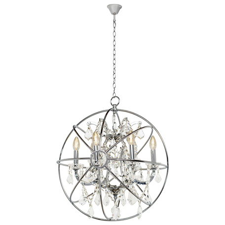 Подвесная люстра Loft It Foucaults Orb Crystal LOFT1896/6, 6xE14x40W