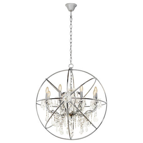 Подвесная люстра Loft It Foucaults Orb Crystal LOFT1896/8, 8xE14x40W