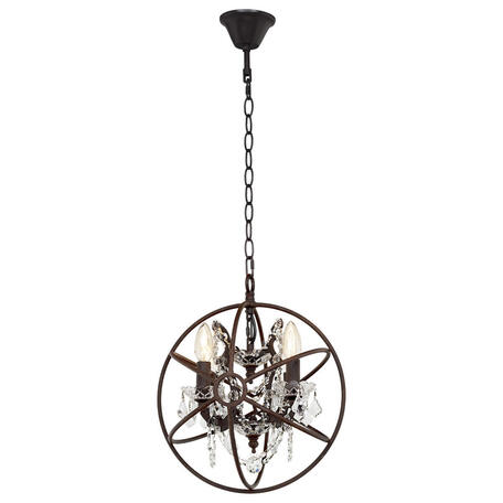 Подвесная люстра Loft It Foucaults Orb Crystal LOFT1897/4, 4xE14x40W