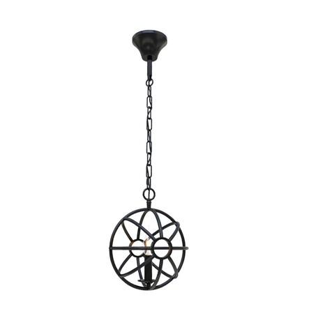 Подвесной светильник Loft It Foucaults orb LOFT1192-1, 1xE14x40W, черный, металл