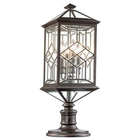 Садово-парковый светильник Fine Art Lamps Oxfordshire 880380, 4xE14x60W