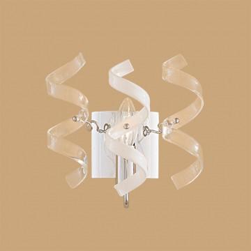 Бра Citilux Рандом CL222321, 1xE14x60W, хром, белый, прозрачный, металл, стекло - миниатюра 3