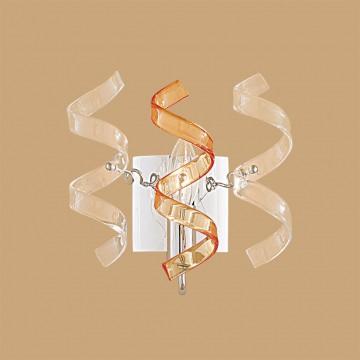 Бра Citilux Рандом CL222322, 1xE14x60W, хром, оранжевый, прозрачный, металл, стекло - миниатюра 3