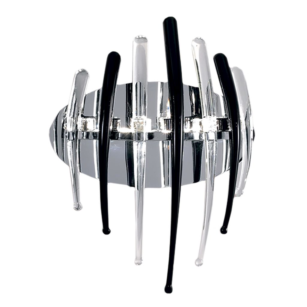 Настенный светильник Citilux Арго CL252332, 3xG4x20W, хром, прозрачный, черный, металл, стекло - фото 1