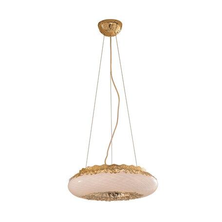 Подвесной светильник Citilux Торо CL254162, 6xG9x40W, золото, металл, металл со стеклом
