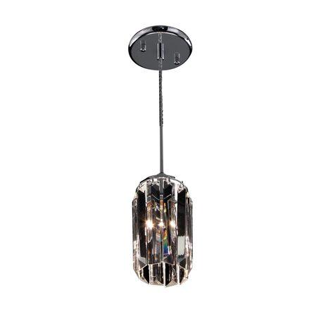 Подвесной светильник Citilux Синди CL330111, 1xE14x60W, хром, прозрачный, металл, хрусталь