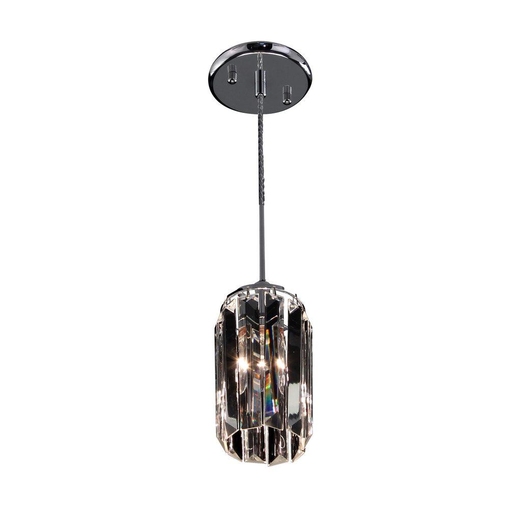 Подвесной светильник Citilux Синди CL330111, 1xE14x60W, хром, прозрачный, металл, хрусталь - фото 1