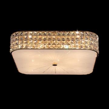 Потолочная люстра Citilux Портал CL324282, 8xE14x60W, золото, металл, стекло, хрусталь - миниатюра 2