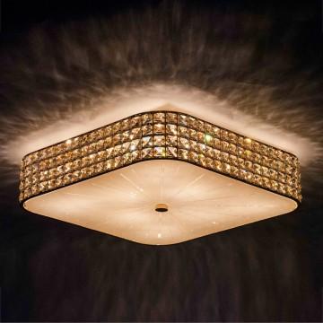 Потолочная люстра Citilux Портал CL324282, 8xE14x60W, золото, металл, стекло, хрусталь - миниатюра 4