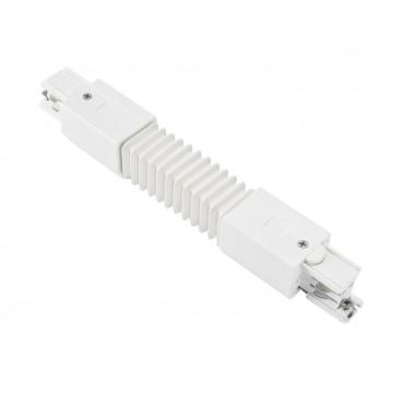 Гибкий соединитель для шинопровода Ideal Lux LINK FLEXIBLE CONNECTOR WHITE 169910, белый, пластик