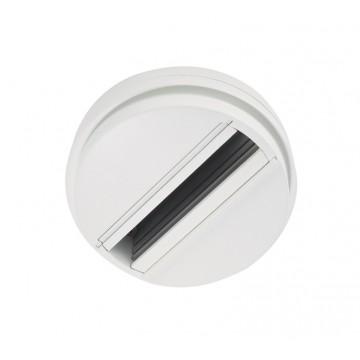 Шинопровод Ideal Lux LINK SINGLE CONNECTION WHITE 170145, белый, металл