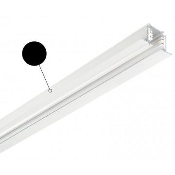 Шинопровод Ideal Lux LINK TRIM PROFILE 2000 mm BLACK 188027, черный, металл - миниатюра 1