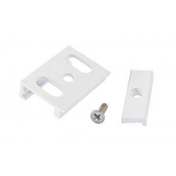 Крепление для накладного монтажа шинной системы Ideal Lux LINK TRIMLESS KIT SURFACE WH 169972 (LINK TRIMLESS KIT SURFACE WHITE), белый, металл