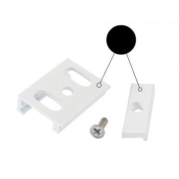 Крепление для накладного монтажа шинной системы Ideal Lux LINK TRIMLESS KIT SURFACE BK 169989 (LINK TRIMLESS KIT SURFACE BLACK), черный, металл