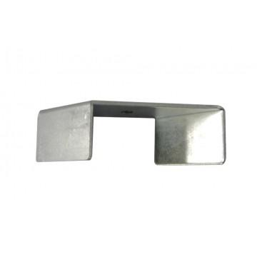Крепление для встраиваемого монтажа шинной системы Ideal Lux LINK TRIM KIT RECESSED <1000 mm 188195, сталь, металл