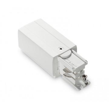 Подвод питания для шинной системы Ideal Lux LINK TRIMLESS MAIN CONNECTOR RIGHT WH ON-OFF 169590 (LINK TRIMLESS MAIN CONNECTOR RIGHT WHITE), белый, пластик