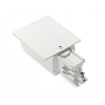 Подвод питания для шинной системы Ideal Lux LINK TRIM MAIN CONNECTOR RIGHT WH ON-OFF 188058 (LINK TRIM MAIN CONNECTOR RIGHT WHITE), белый, пластик