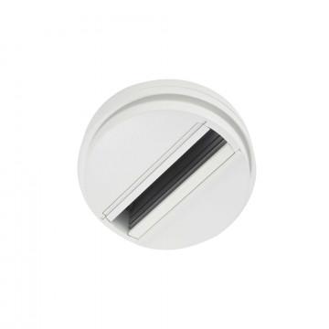 Шинопровод Ideal Lux LINK SINGLE CONNECTION WH ON-OFF 170145 (LINK SINGLE CONNECTION WHITE), белый, металл