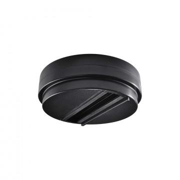 Шинопровод Ideal Lux LINK SINGLE CONNECTION BK ON-OFF 170152 (LINK SINGLE CONNECTION BLACK), черный, металл