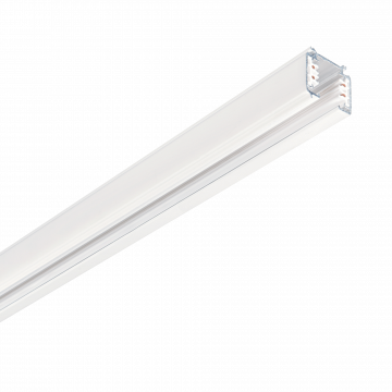 Шинопровод Ideal Lux LINK TRIMLESS PROFILE 2000 mm WH ON-OFF 187976 (LINK TRIMLESS PROFILE 2000 mm WHITE), белый, металл