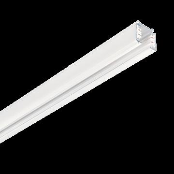 Шинопровод Ideal Lux LINK TRIMLESS PROFILE 3000 mm WH ON-OFF 187990 (LINK TRIMLESS PROFILE 3000 mm WHITE), белый, металл