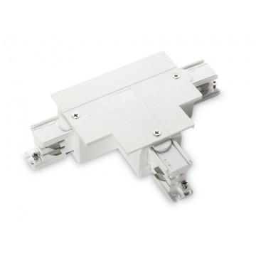 T-образный правый соединитель для шинопровода Ideal Lux LINK TRIM T-CONNECTOR RIGHT WHITE 188133, белый, пластик
