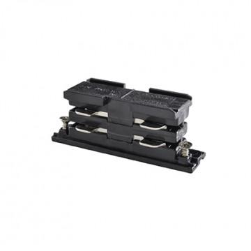 Внутренний прямой соединитель для шинопровода Ideal Lux LINK ELECTRIFIED CONNECTOR BK ON-OFF 169644 (LINK ELECTRIFIED CONNECTOR BLACK), черный, пластик