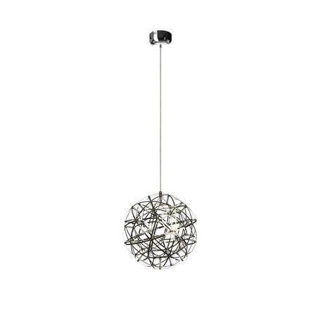 Подвесная светодиодная люстра Loft It Moooi Raimond 1898/4, LED 16,8W, хром, металл - миниатюра 1