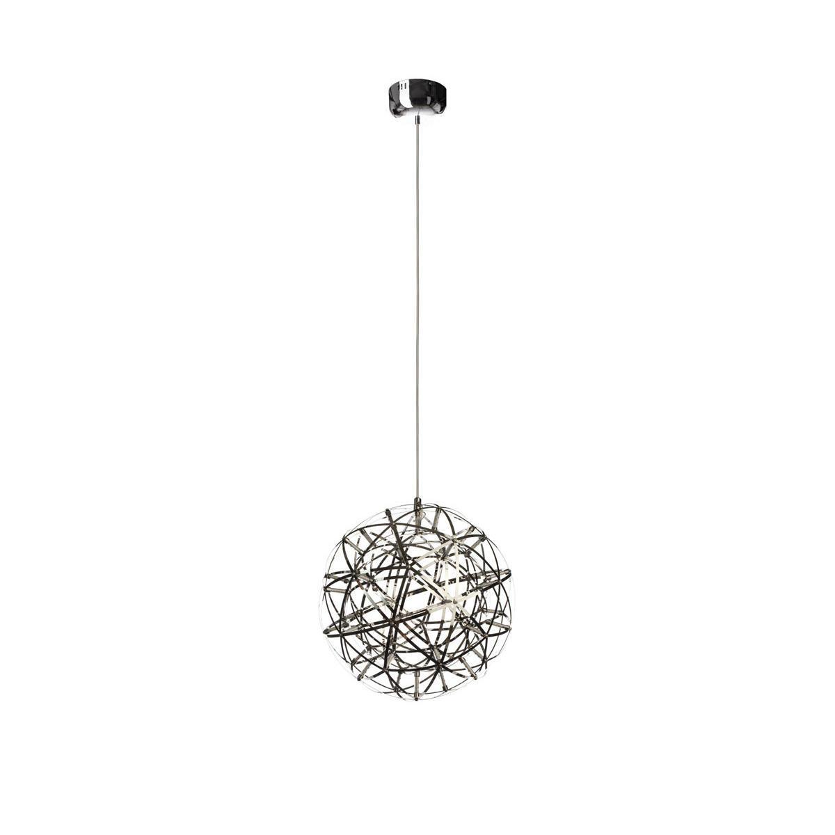Подвесная светодиодная люстра Loft It Moooi Raimond 1898/4, LED 16,8W, хром, металл - фото 1