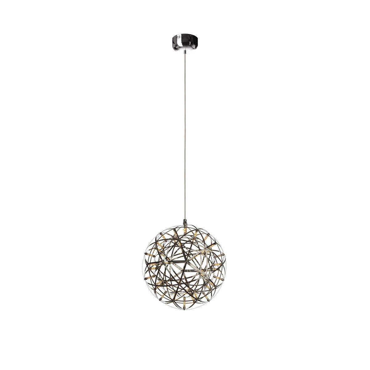 Подвесная светодиодная люстра Loft It Moooi Raimond 1898/4, LED 16,8W, хром, металл - фото 2