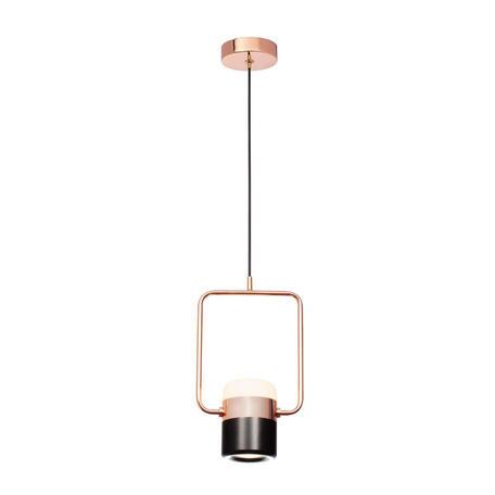 Подвесной светодиодный светильник Loft It Ling 8118-A, LED 8W, медь, черный, металл, металл с пластиком