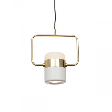 Подвесной светодиодный светильник Loft It Ling 8119-B, LED 8W, золото, белый, металл, металл с пластиком - миниатюра 2