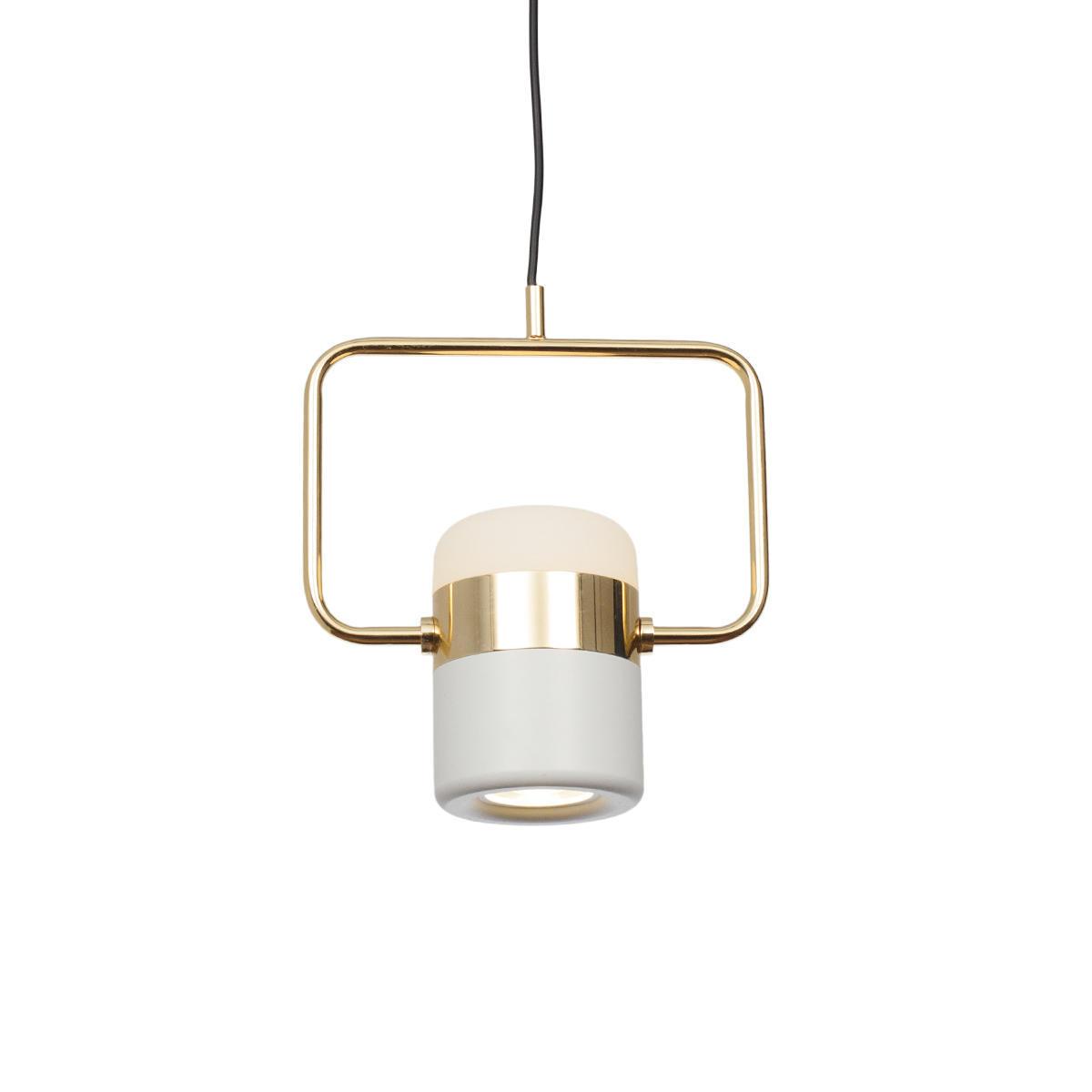 Подвесной светодиодный светильник Loft It Ling 8119-B, LED 8W, золото, белый, металл, металл с пластиком - фото 2