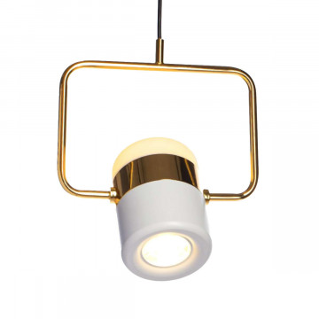 Подвесной светодиодный светильник Loft It Ling 8119-B, LED 8W, золото, белый, металл, металл с пластиком - миниатюра 3