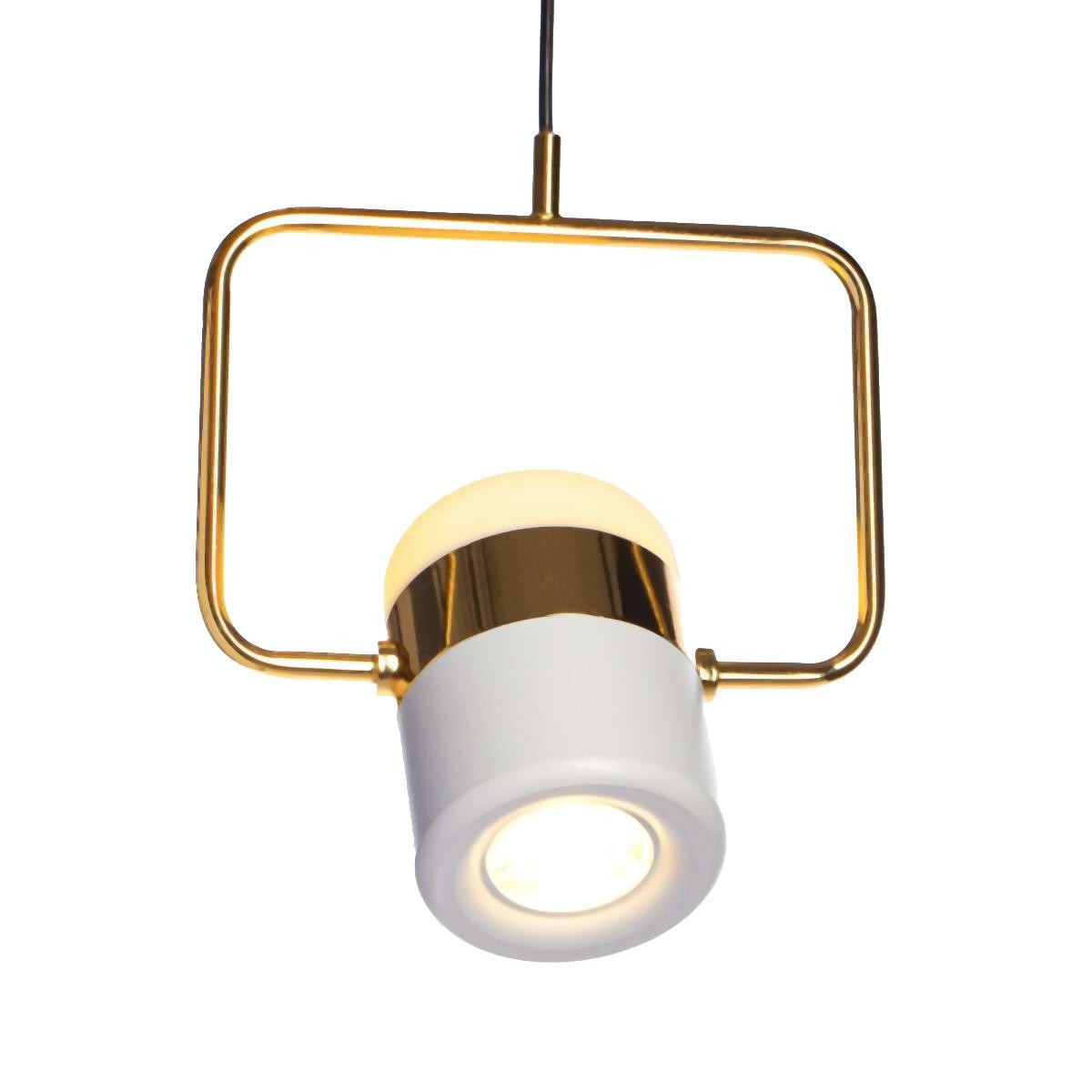 Подвесной светодиодный светильник Loft It Ling 8119-B, LED 8W, золото, белый, металл, металл с пластиком - фото 3