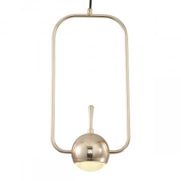 Подвесной светодиодный светильник Loft It Nuance 8139-A, LED 10W, золото, металл, металл с пластиком - миниатюра 2