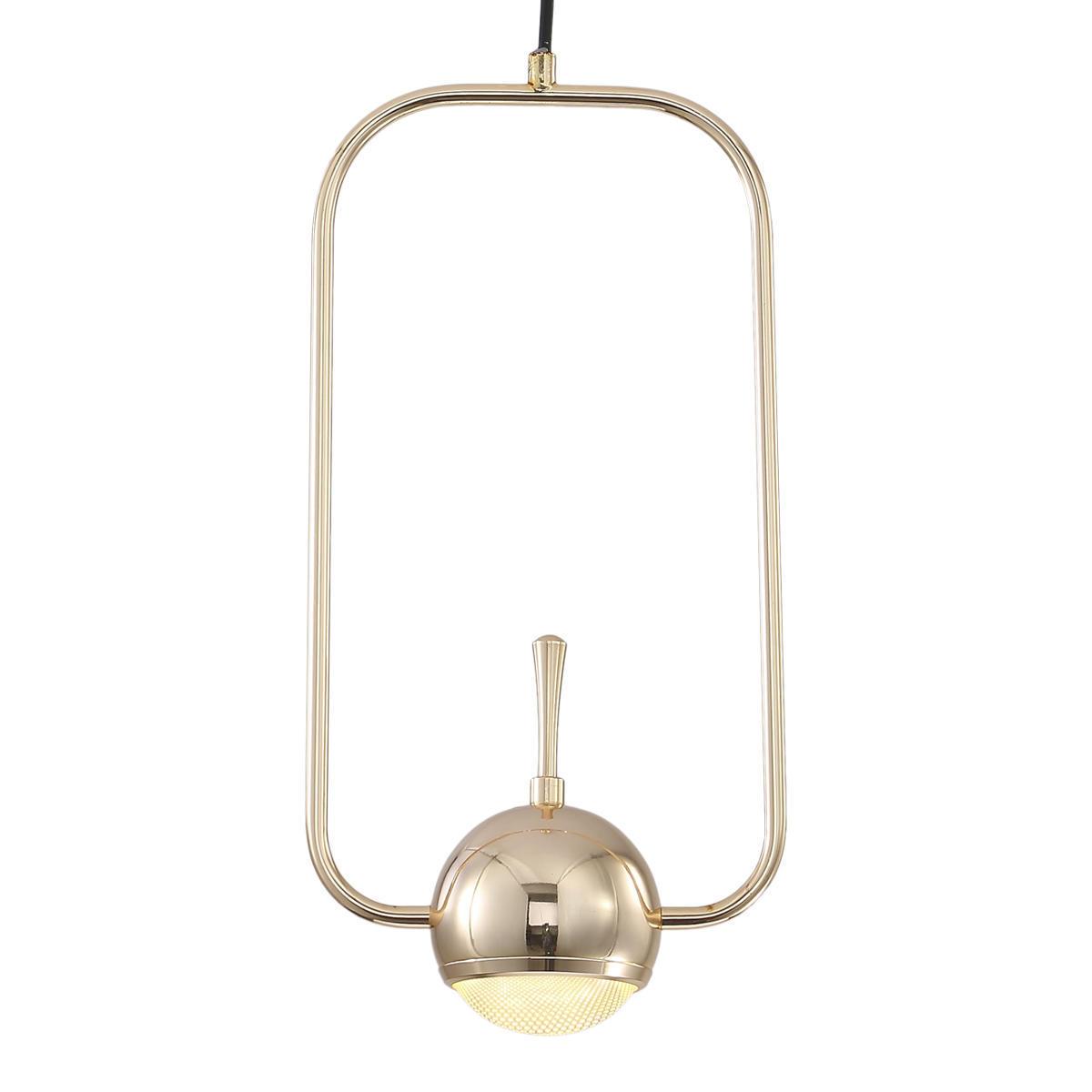 Подвесной светодиодный светильник Loft It Nuance 8139-A, LED 10W, золото, металл, металл с пластиком - фото 2