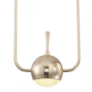 Подвесной светодиодный светильник Loft It Nuance 8139-A, LED 10W, золото, металл, металл с пластиком - миниатюра 3