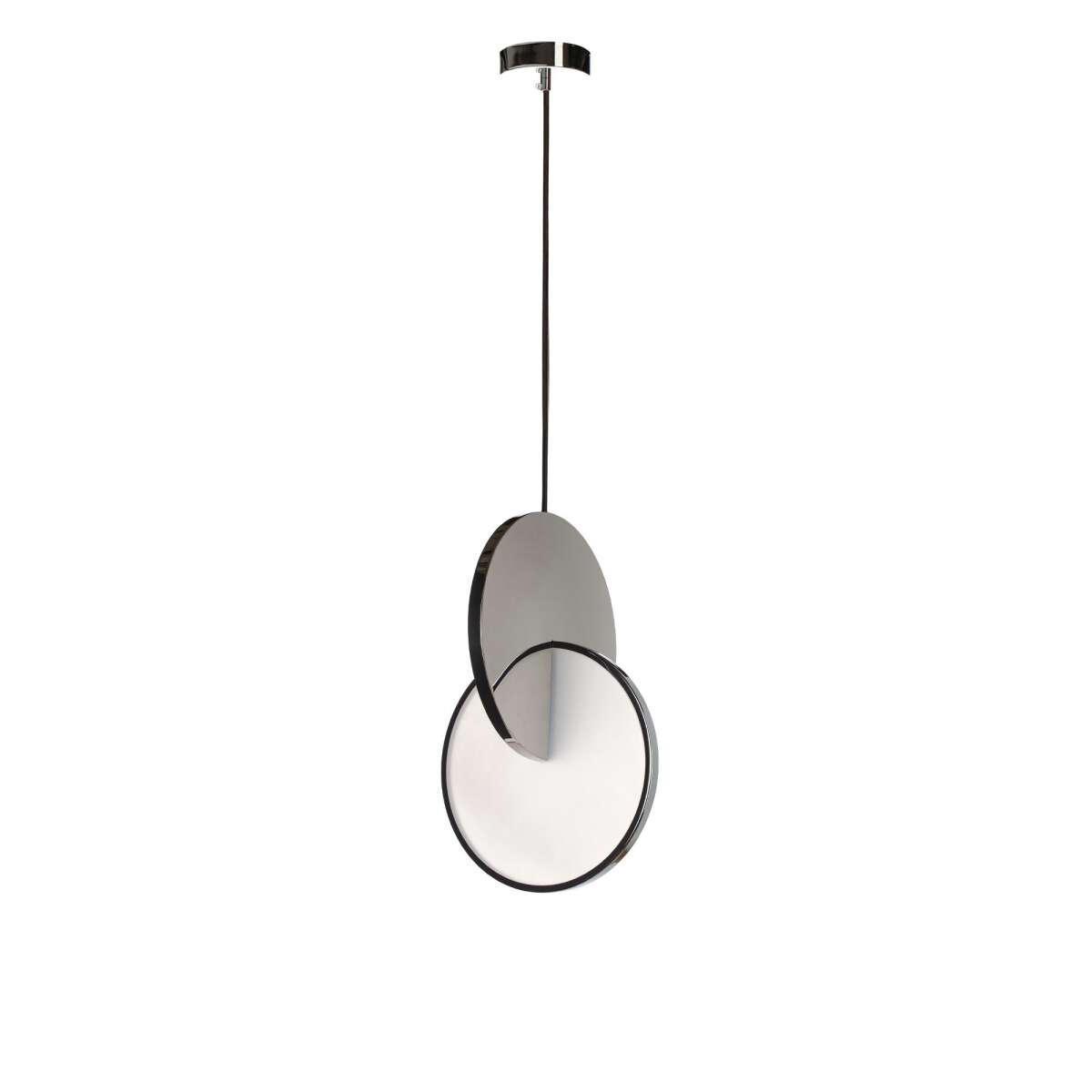 Подвесной светодиодный светильник Loft It Eclipse 9970P, LED 22W, хром, хром с белым, металл, металл с пластиком - фото 1