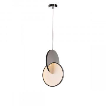 Подвесной светодиодный светильник Loft It Eclipse 9970P, LED 22W, хром, хром с белым, металл, металл с пластиком - миниатюра 2