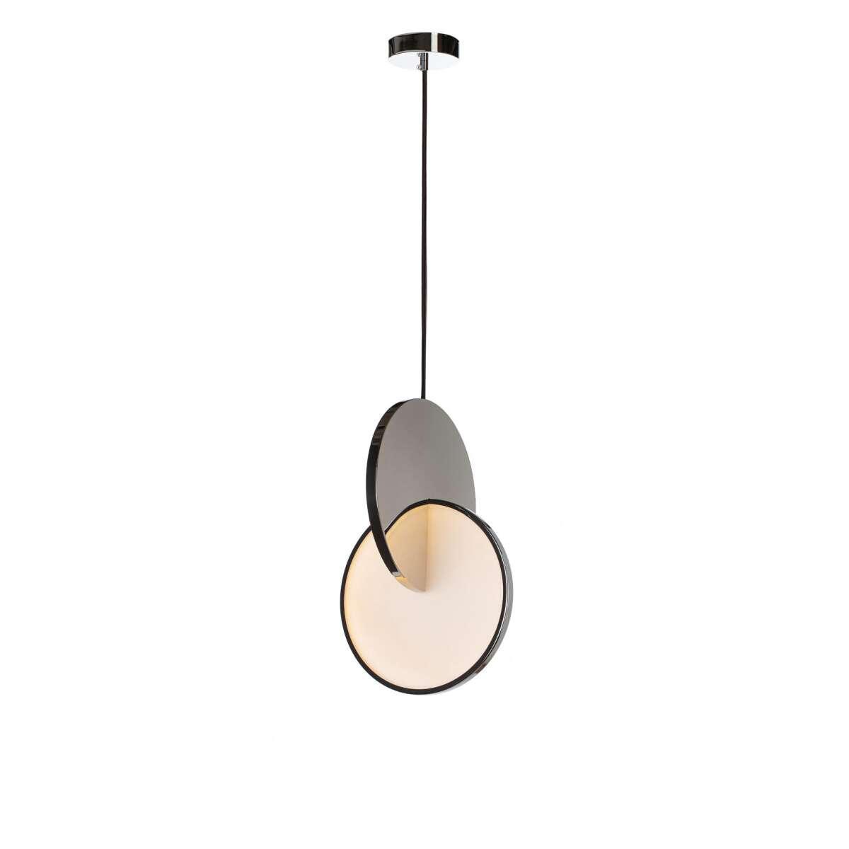 Подвесной светодиодный светильник Loft It Eclipse 9970P, LED 22W, хром, хром с белым, металл, металл с пластиком - фото 2