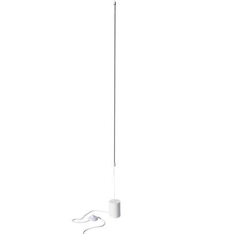 Подвесной светодиодный светильник-светодиодный торшер Loft It Slim 3604-WH, LED 12W, белый, металл