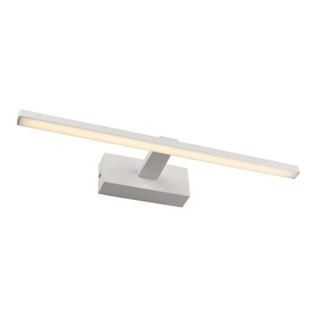 Настенный светодиодный светильник для подсветки зеркал Omnilux Bresso OML-24101-08, IP44, LED 8W 4000K 440lm